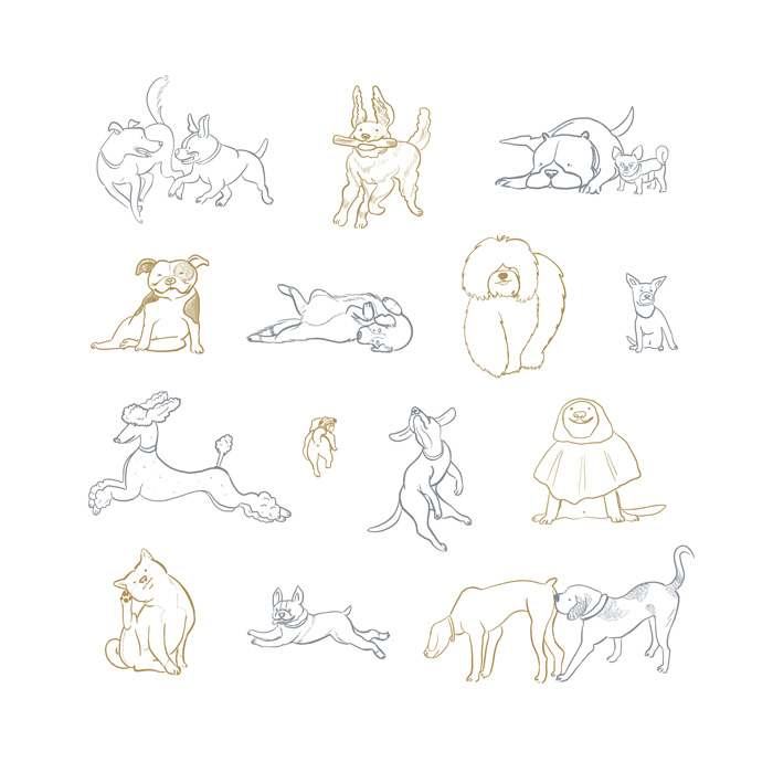 Dogs, Dogs, Dogs! by Mika Senda