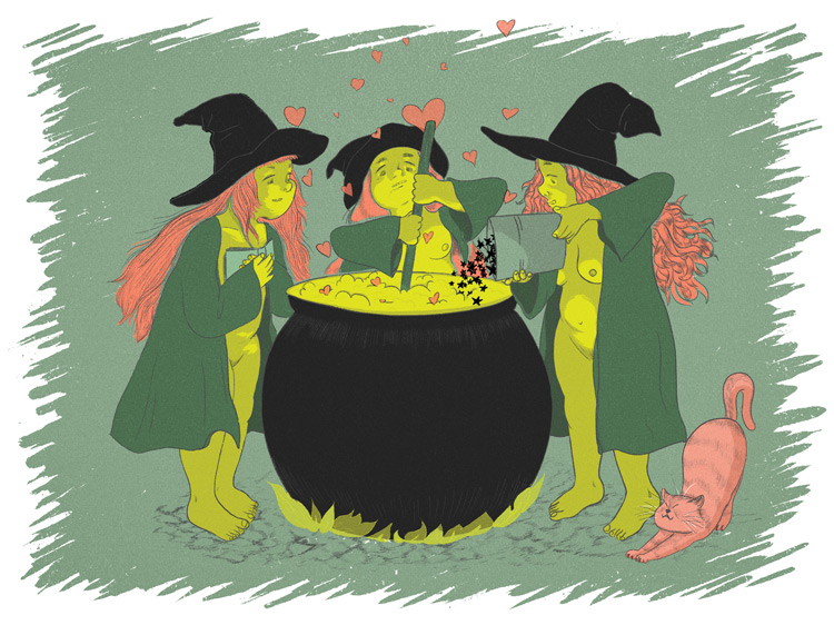 Witches Love Brew by Mika Senda
