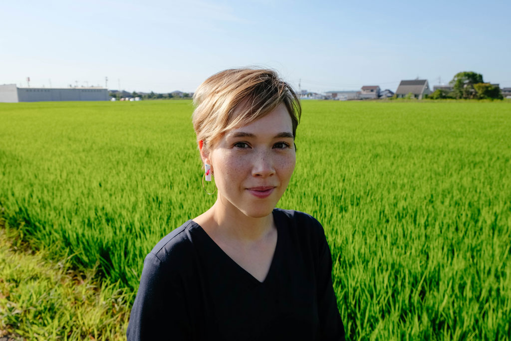 photograph of mika senda illustrator